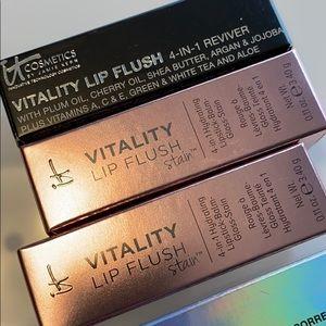 It Cosmetics Lip Flush lot of 3